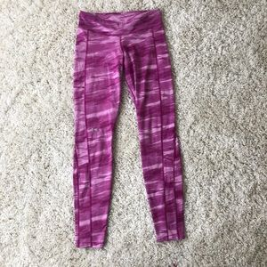 Under Armour Cozy Pink full length leggings medium